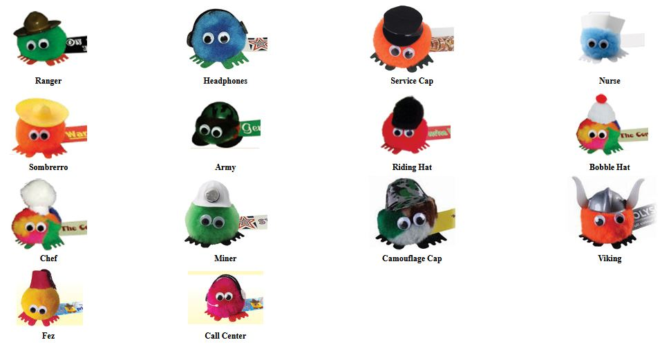 Weepuls with Hats