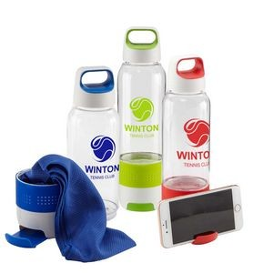 Hydra Chill Water Bottle w/Cooling Towel