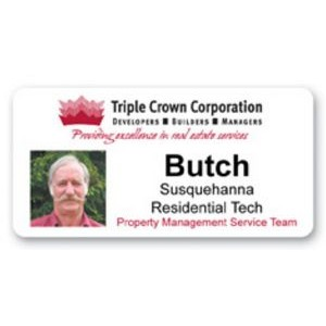 "Photo ID Badge (1.5""x3"")"