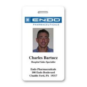 "Photo ID Badge (2""x3.5"")"