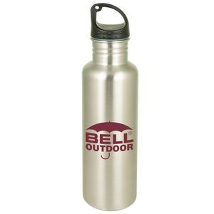 26 Oz. Backpacker Stainless Water Bottle Single Wall