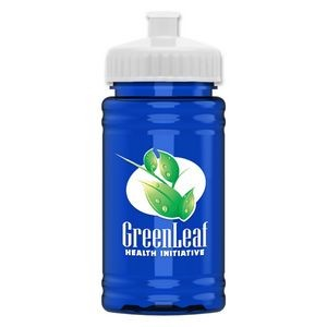 UpCycle - Mini 16 oz. rPet Sports Bottle with Push-Pull Lid - Digital