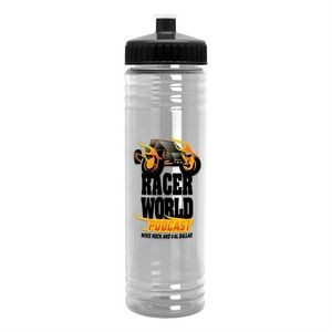 24 oz. Slim Fit Water Bottle with Push-Pull Lid - Digital