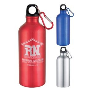 20 Oz Aluminum Sports Bottle With Twist Off Lid