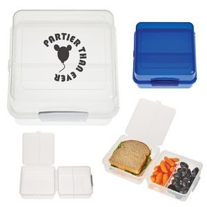Split-Level Lunch Container