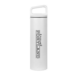MiiR® Vacuum Insulated Wide Mouth Bottle - 20 Oz. White