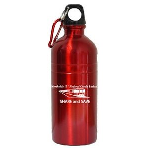 20 Oz. Stainless Steel Water Bottle with Carabiner